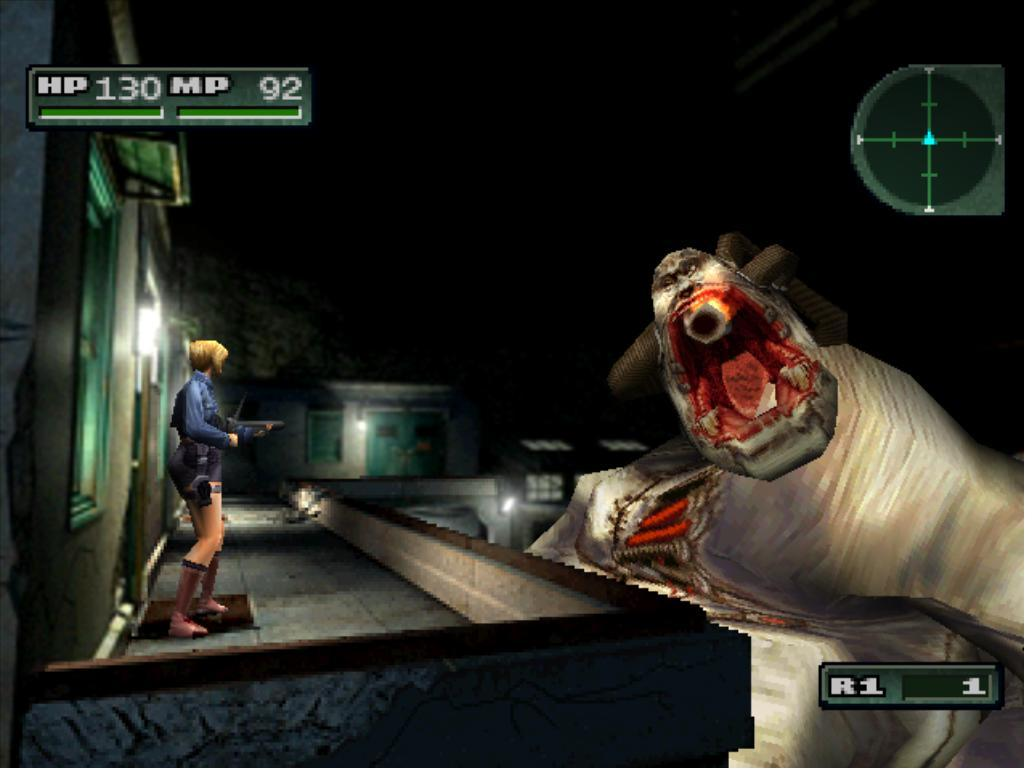 Screenshot thumbnail media file 2 for parasite eve 2 disc1of2